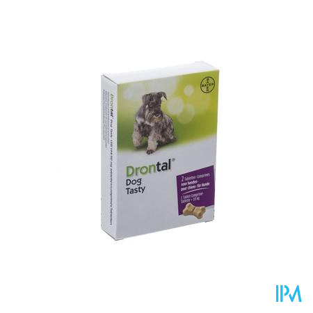 Drontal Tasty Bone 150/144/5mg 10kg Dog Comp 2