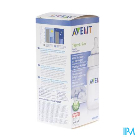 Farmawebshop - AVENT ZUIGFLES NATURAL 260ML