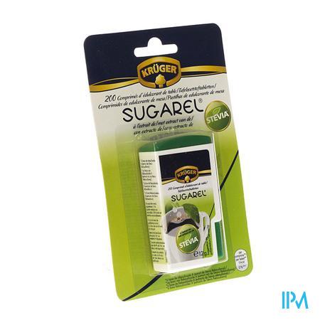 Sugarel Stevia Edulcorant 200 comprimés