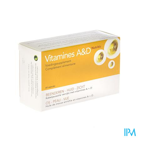 Nutritic Vit A + D 60 capsules