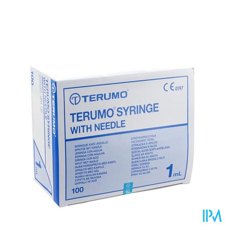 Wwsp 1ml Terumo Nld 26g1/2 Tu- 100 St 0