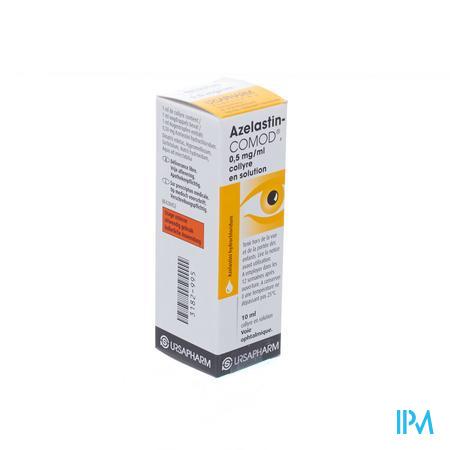 Azelastin-comod Oogdruppels 10ml