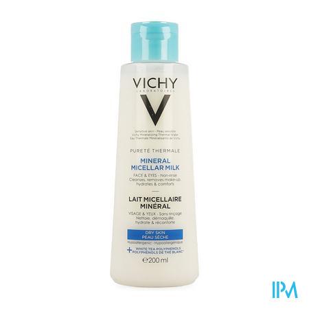 Vichy Pt Micellair Melk Droge Huid 200ml