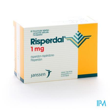 Risperdal Comp Pell 60 X 1mg