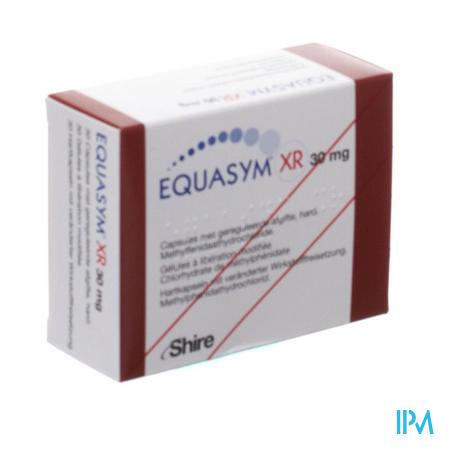 Equasym Xr 30mg Caps Liberation Modifiee 30
