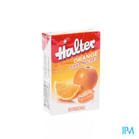 Halter Bonbon Sinaas Zonder Suiker 40 g