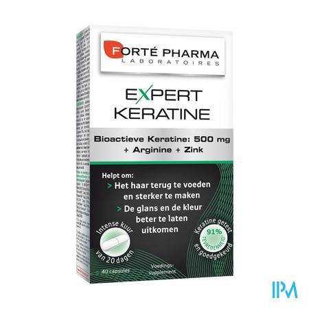 Forté Pharma Expert Keratine 40 capsules