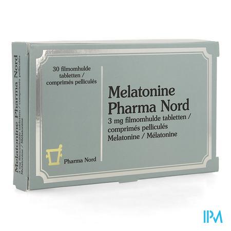 Melatonine Pharma Nord 3mg Filmomh Tabl 30 X 3mg