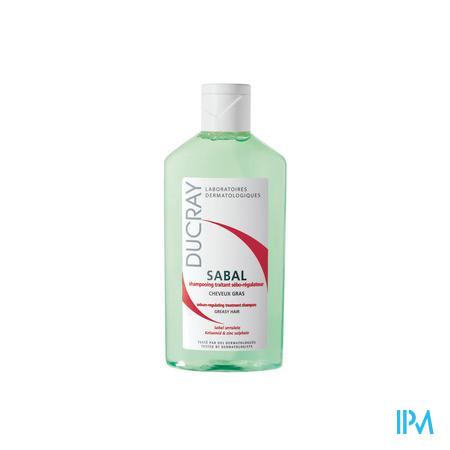 Afbeelding * Ducray Sabal Talgregulerende en Verzorgende Shampoo voor Vet Haar Flacon 200 ml.