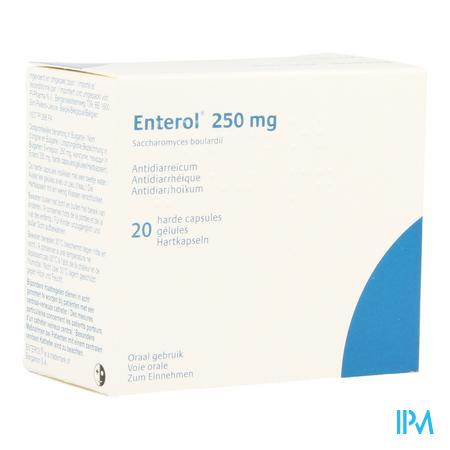 Enterol 250mg Pi Pharma Harde Caps 20 Pip