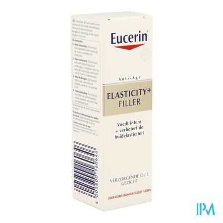 Afbeelding Eucerin Elasticity+Filler Verzorgende Olie voor Gezicht  30 ml.