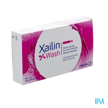 Xailin Wash 20x5ml