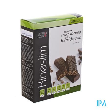 Kineslim Crunch Reep Chocolade 3x40g