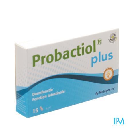 Probactiol Plus Blister Caps 15 Metagenics