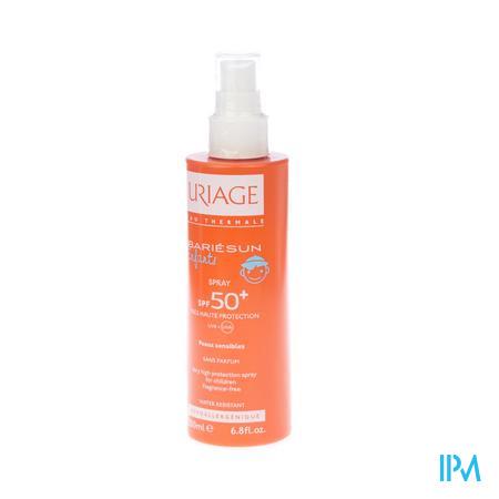 Afbeelding Uriage Bariésun Zonnemelk voor Kinderen met SPF 50+ Spray 200 ml.