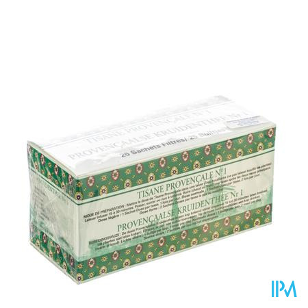 Alphamega Provencaalse Kruidenthee N1 25 zakjes