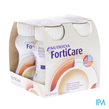 Nutricia Forticare Cappucino 4x 125 ml