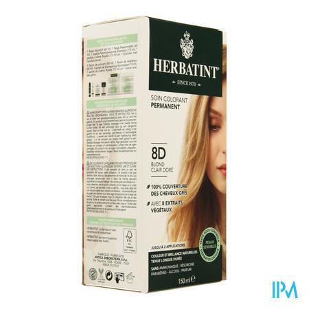 Herbatint Blond Clair Dore 8d