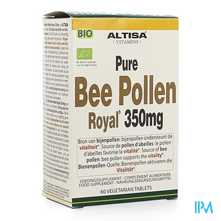 Altisa Bee Pollen Royal Bio 350mg Tabl 60