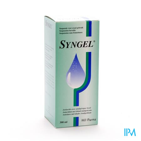 Syngel Suspension Or 300 ml  -  Will Pharma
