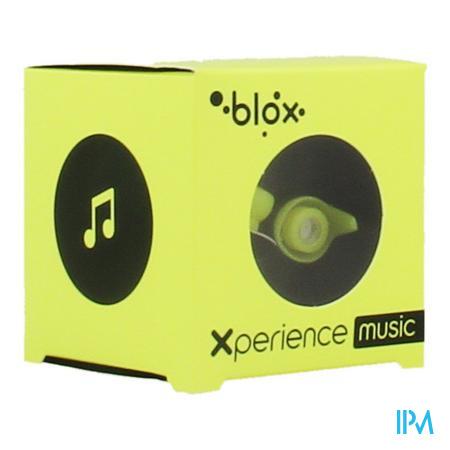 Afbeelding Blox Xperience Music Oordopjes met Akoestische Filter in Fluo Geel 1 Paar.