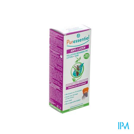 Puressentiel Anti-Luizen Spray + Kam 100 ml