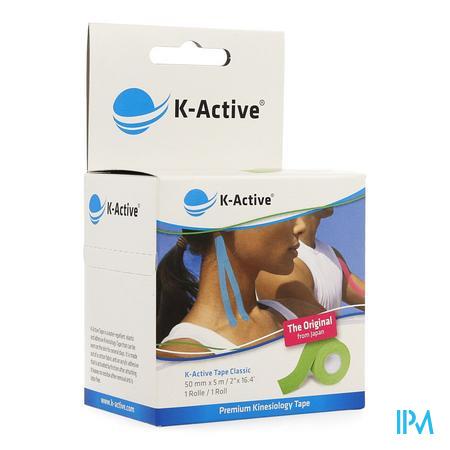 K-Active Tape Green 5,0cm x 5m