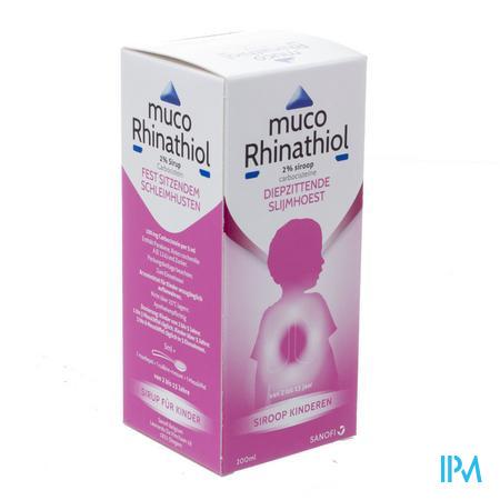 Muco Rhinathiol 2% Siroop Inf 200 ml
