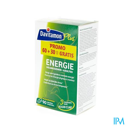 Davitamon Energy Adult Promo (60 + 30 Tabletten) 60 + 30 tabletten
