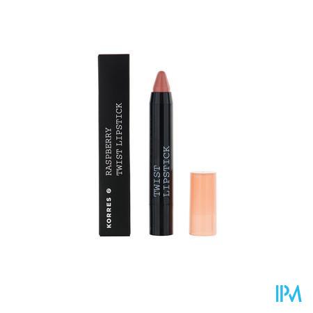 Afbeelding Korres Raspberry Twist Lipstick Innocence 2,5 g.