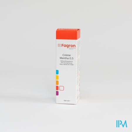 Fdc Mentha 0,5 Creme 100 ml  -  Fagron