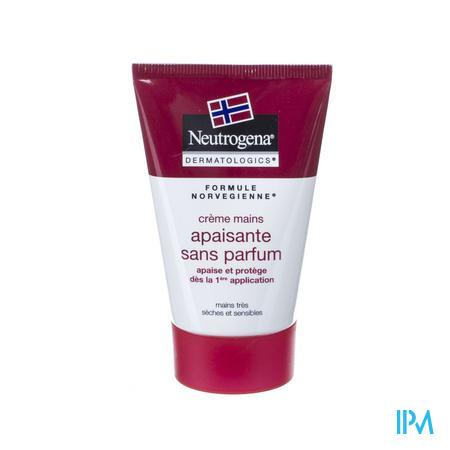 Neutrogena N/f Handcreme Kalmerend Z/parf 50ml