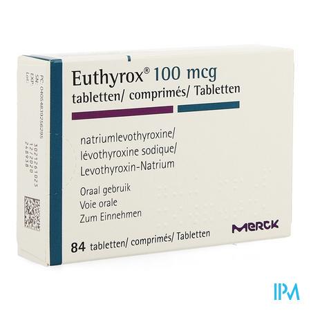 Euthyrox Comp 84 X 0,100mg