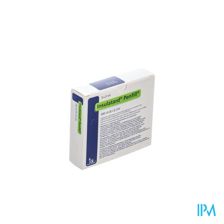 Insulatard Penfill 100 Iu/ml 5 X 3,0ml
