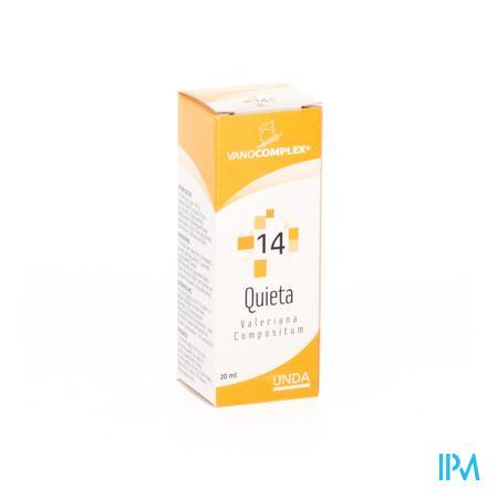 Vanocomplex 14 Quieta 20 ml