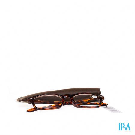 Pharma Glasses Leesbril Bruin +2,5 1 stuk