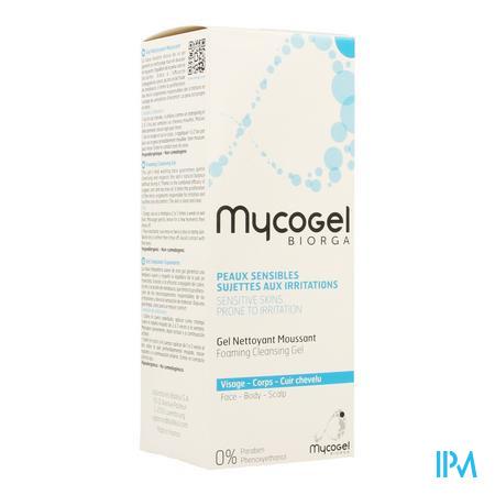 Mycogel Gel Nett Moussant Visage Tube 150 ml