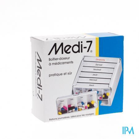 Pillendoos Week Medi-7 Plastiek Pontos