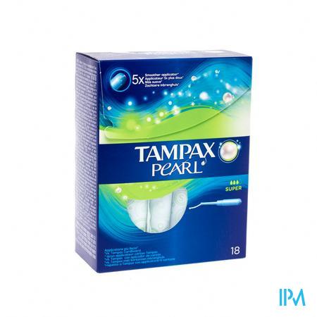 Tampax Pearl Super 18 stuks
