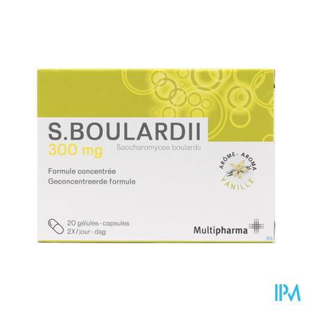 Multipharma S.boulardii 300mg Gel 20