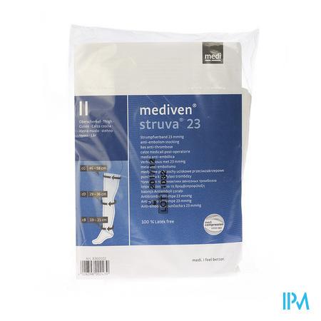 Mediven Struva 23 Anti - Thrombose Dijkous Wit T3 1 paar