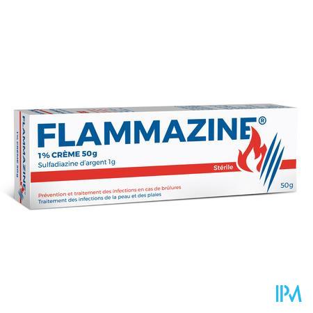 Flammazine 1% Creme 1 X 50 gr