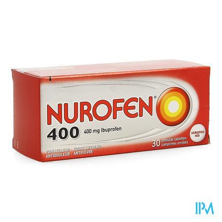 Nurofen Omhulde Tabletten 30 X 400 mg
