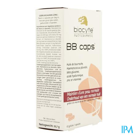 Biocyte BB Caps 60 capsules