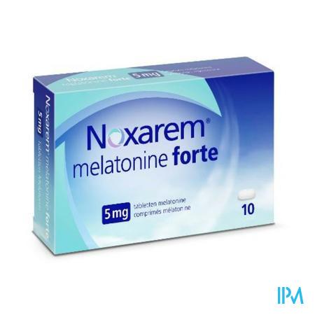 Noxarem Melatonine Forte 5mg Comp 10