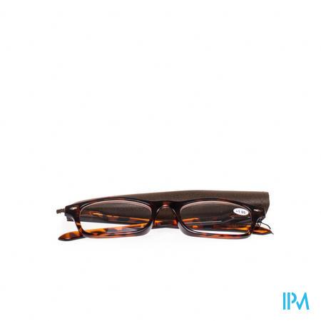 Pharma Glasses Leesbril Bruin +1 1 stuk