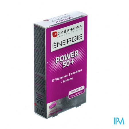 Forté Pharma Energie Power 50+ 28 comprimés