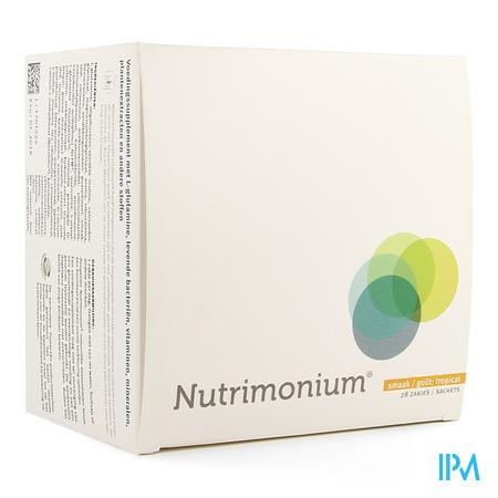 Nutrimonium Tropical Pdr Zakje 28 22859 Metagenics