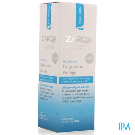 Zarqa Magnesium Dagcreme Pro-age 50ml