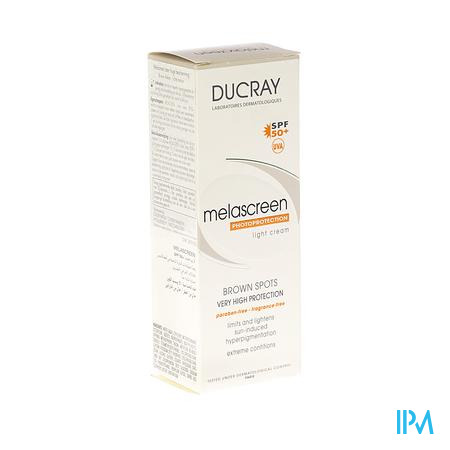Ducray Melascreen Uv Lichte Creme 40ml